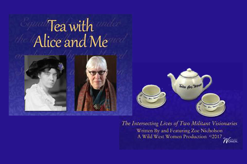 Tea with Alice and Me