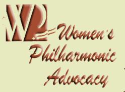 Women's Philharmonic Advocacy